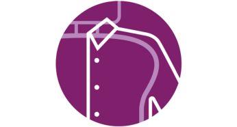 Конструкция в форме плечиков ShoulderShape для глажения рубашек