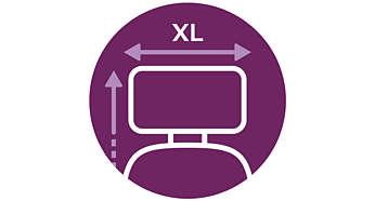 In einem Zuge mehr bügeln: XL-Bügelbrett und XL-Bügeleisenunterlage