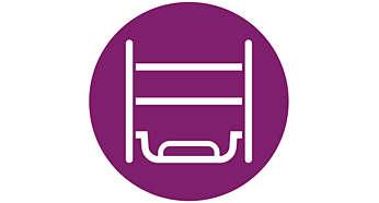 Optimal für Dampfbügelstationen: XL-Bügeleisenunterlage