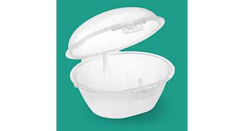 La esterilización en el microondas es un proceso seguro y fácil de realizar