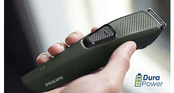 DuraPower technology for a longer lasting battery life