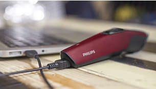 USB charging for convenient use