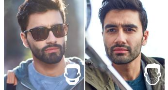 Choose beard lenghts of 1-3-5-7mm or the zero trim look