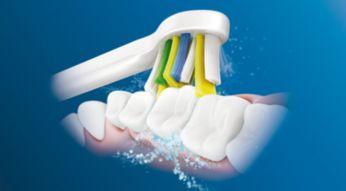Nasza wyjątkowa technologia zapewnia efektywne i delikatne czyszczenie