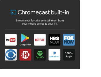 Transmita seu entretenimento favorito de um dispositivo móvel para a TV