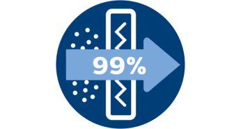 Фильтр Super Clean Air удерживает более 99% частиц