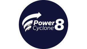 """""""PowerCyclone 8"""" technologija atskiria dulkes nuo oro"""