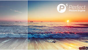 Perfekt bild med Philips P5 Perfect Picture Engine