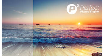 Perfect beeld met de Philips P5 Perfect Picture Engine