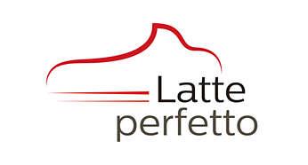 Kiváló tejhab a Latte Perfetto technológiának köszönhetően