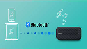 Wireless music streaming via Bluetooth