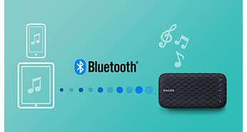 Streaming wireless di file musicali tramite Bluetooth
