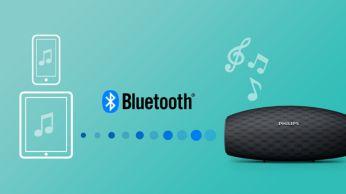 """Belaidis muzikos srautinis perdavimas per """"Bluetooth"""""""