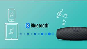 Transmissão de músicas sem fio via Bluetooth