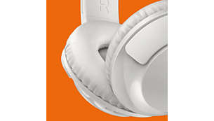 Soft ear cushions for long-wearing comfort