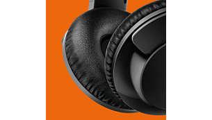 Меки възглавнички за уши за комфортна продължителна употреба