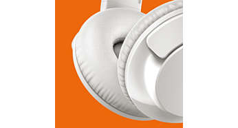Myke øreputer gir langvarig komfort