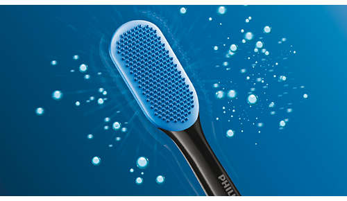 240 MicroBristles voor een zachte, grondige reiniging