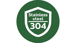 Прочный корпус из нержавеющей стали для долгого срока службы