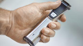 Рама из нержавеющей стали и резиновая рукоятка улучшают контроль