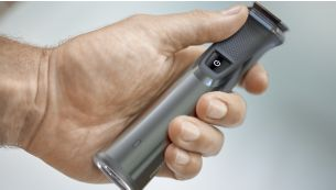 Рама из нержавеющей стали и резиновая ручка улучшают контроль