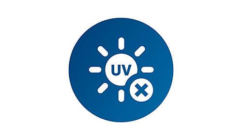 Geen UV of infrarood