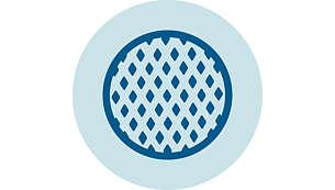 Dank des Filters mit Mikro-Poren verstopft Ihre Maschine nicht