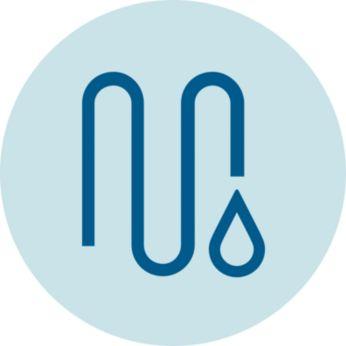 Оптимално пречистена бистра вода благодарение на патентован поток на водата