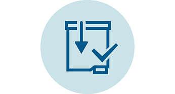 تنشيط الفلتر بسهولة بفضل نظام click&go