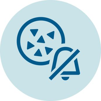 Активирането на AquaClean деактивира алармата за декалциране
