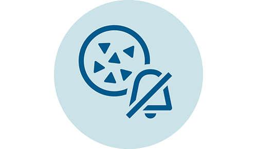 Activarea AquaClean dezactivează alarma de detartrare