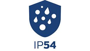 飛沫防塵性能 – IP54