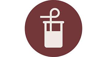 Integrierter Milchbehälter für mehr Komfort