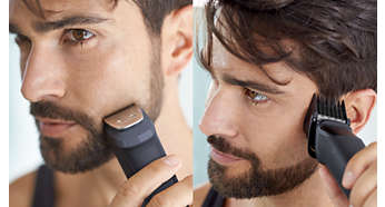 Trim and style your face and hair with 9 tools