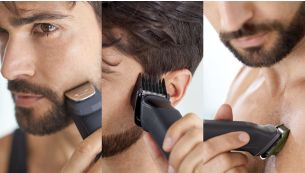 Trim and style your face, hair and body with 11 tools