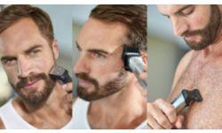 Подравнивайте волосы на голове, лице и теле и создавайте свой стиль с помощью 12 насадок