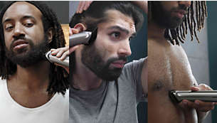 Trim and style your face, hair and body with 14tools