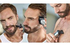 Zastrihávajte a upravujte si bradu, vlasy a telo pomocou 18 rôznych nástrojov