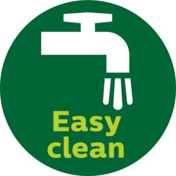 Detachable blades for easy rinsing