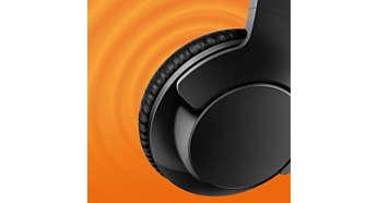 40mm Neodymium speakers