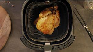 Il formato famiglia XXL è adatto per un pollo intero o per 1,4 kg di patatine fritte