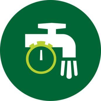 QuickClean-kurv med slip-let-trådnet renses på 90 sekunder