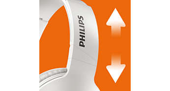 Adjustable earshells and headband for optimal comfort