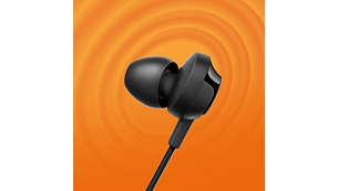 Powerful 12.2 mm speaker drivers