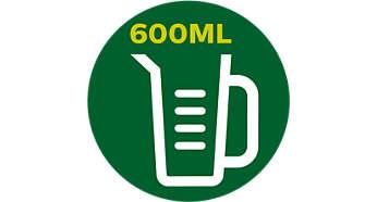 Gourde de 600ml vous permettant d'emporter vos boissons avec vous