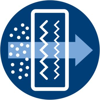 Филтърът Ultra-Hygiene улавя над 99% от финия прах