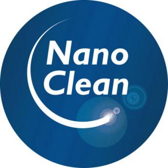 NanoClean teknolojisi, toz boşaltma işlemi sırasında toz bulutu oluşumunu en aza indirir