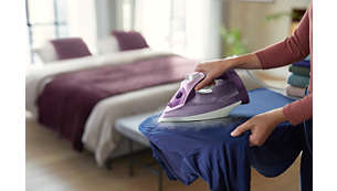 Drip stop keeps garments spotless while ironing