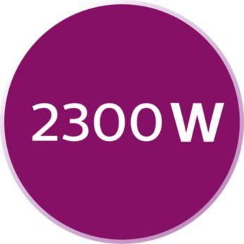 Hızlı ısınma için 2300 W