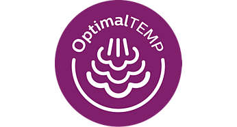 OptimalTEMP-Technologie, keine Temperatureinstellung erforderlich